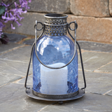 "Smart Living Monaco 9"" LED Candle Lantern"