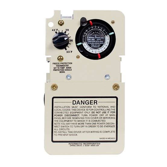 View Intermatic Freeze Control Mechanism with Timer 240 Volt Product
