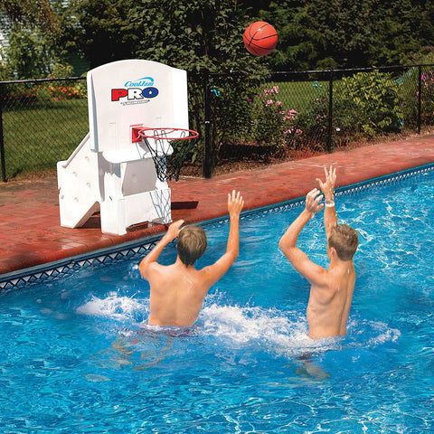Swimline Cool Jam Pro Poolside Basketball Game