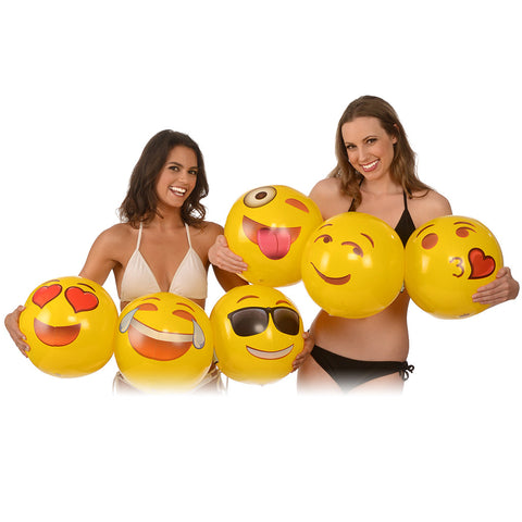 "Emoji 18"" Beach Ball"