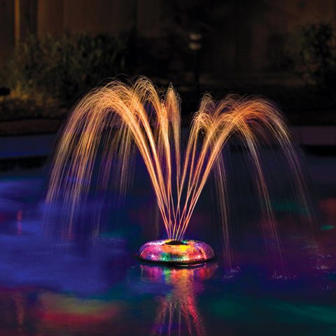 G.A.M.E. Underwater Light Show Fountain