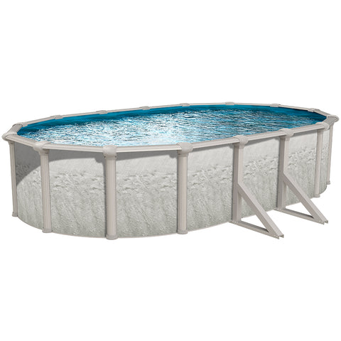 "Heritage 15' X 30' X 52"" Pool with Mystri Gold Unibead Liner"