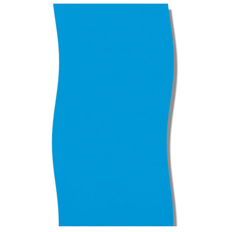 """Swimline 12' x 24' x 48/52"""" Oval Solid Blue Above Ground Pool Liner"""