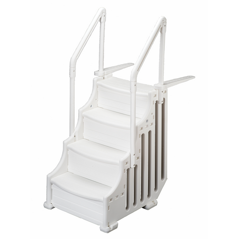 "30"" Mighty Step System W/ Outside Safety ladder"