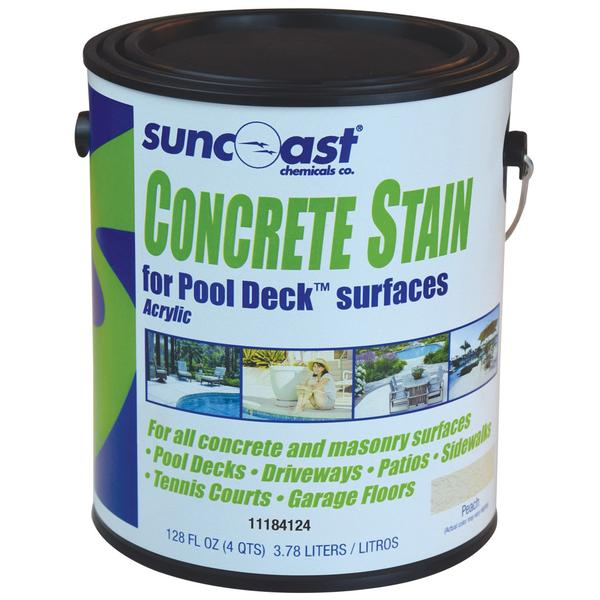 Concrete Stain Peach Water Based 1 Gallon