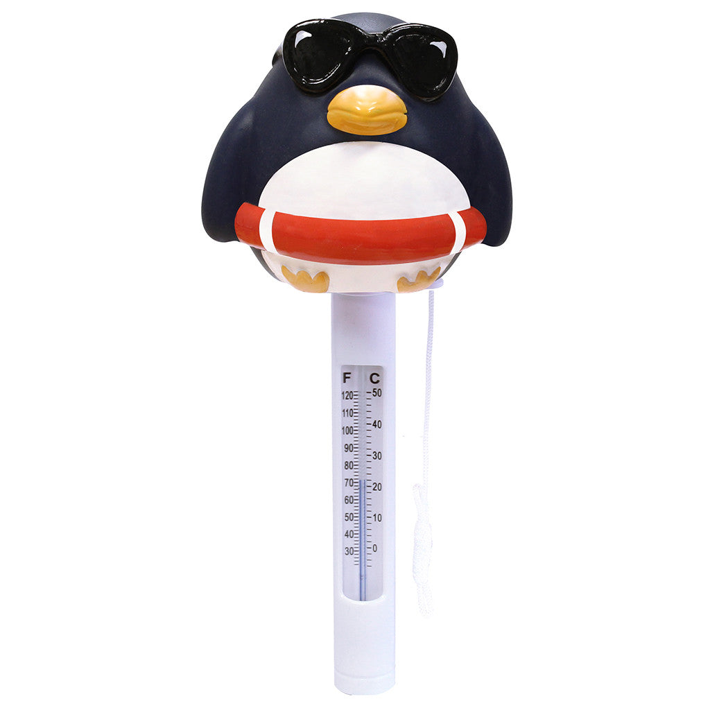 Porpoise Penguin Soft Top Floating Thermometer