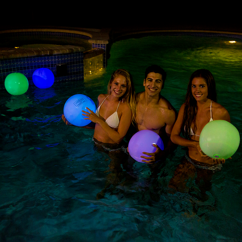 "Pool Candy Illuminated 12"" Glow Ball"