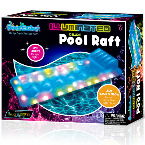 Pool Candy Illuminated Pool Raft