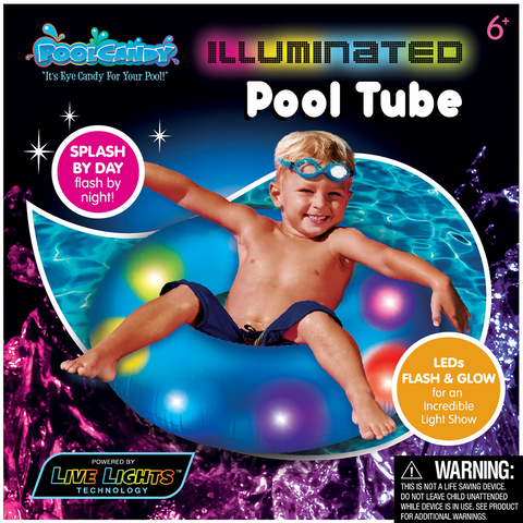 "Pool Candy 24"" Illuminated Pool Tube"
