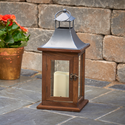 Smart Living Portland LED Candle Lantern