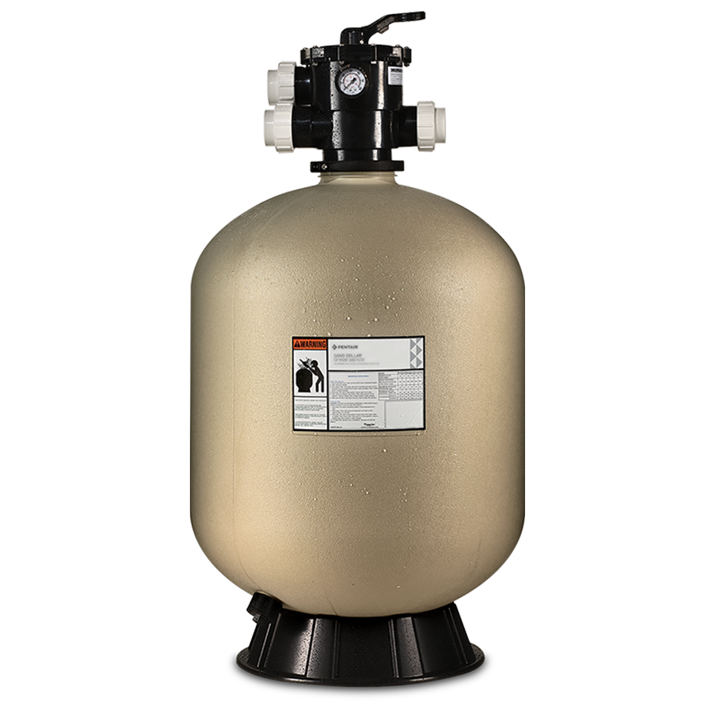 """View Pentair Sand Dollar SD 40 19"""" Sand Filter with 6 Position 1.5"""" Valve Product"""