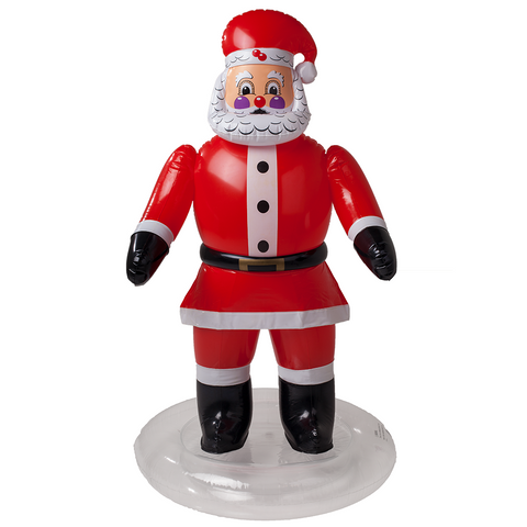 SunSplash Inflatable Floating Santa Claus