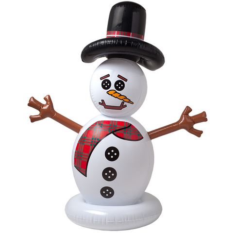 SunSplash Inflatable Floating Snowman