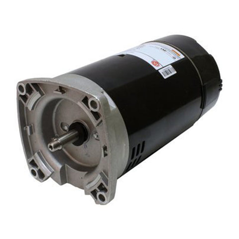 1 HP 2 Speed Square Flange 230V Motor