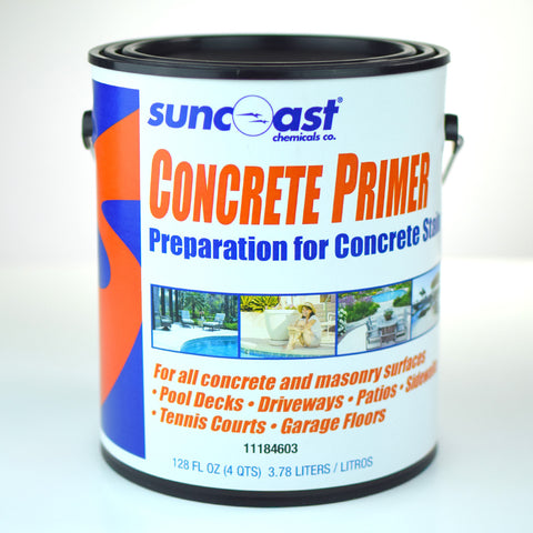Suncoast Water-Based Concrete Primer, 1 Gallon