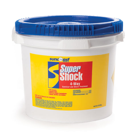 Suncoast Super Shock 4-Way 25 Lb. Bucket