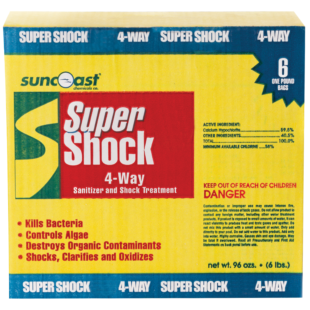 Suncoast Super Shock 4-Way, 6 Pack, 1 Lb. Bags