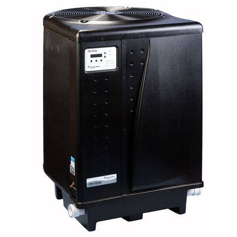 Pentair UltraTemp 120Q Quiet Heat Pump, Black Cabinet