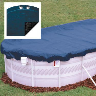 Porpoise 15' x 30' Oval Winter Cover w/8 Yr Warranty