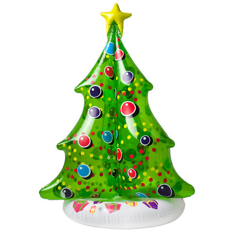 SunSplash Inflatable Floating Christmas Tree