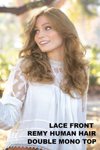 Charlotte Wavy Human Hair #8203 by Amore Wigs