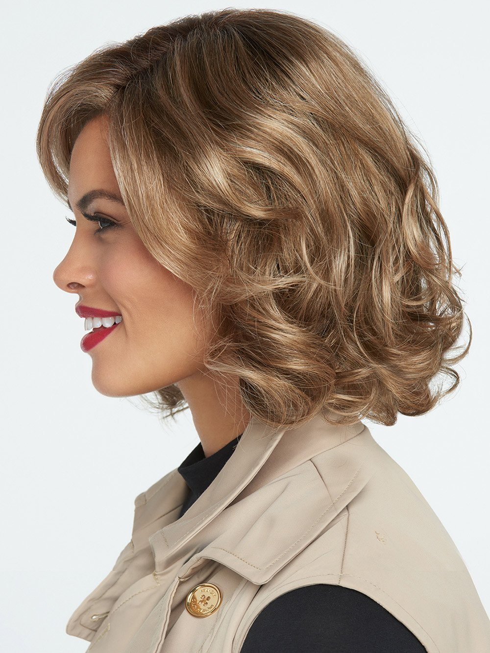Brave The Wave | Synthetic Lace Front Wig (Mono Part) by Raquel Welch