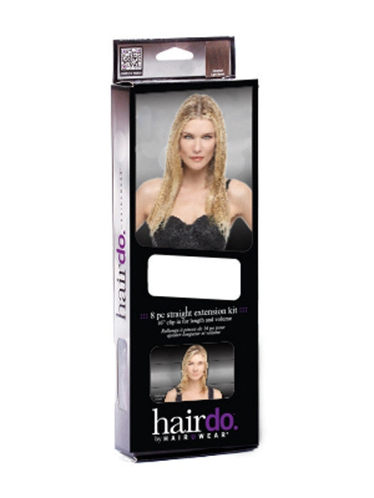 "16"" 8 Piece Straight Extension Kit by HairDo - Wig Galaxy - 6"