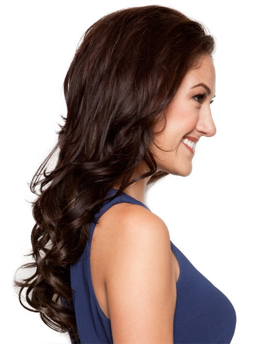 "18"" 8 Piece Wavy Extension Kit by HairDo - Wig Galaxy - 9"
