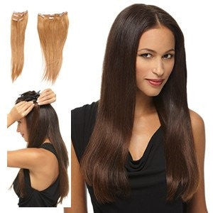 "16"" 5 Piece Remy Human Hair Extension Kit by HairDo - Wig Galaxy - 3"