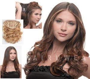 "23"" Wavy Extension by HairDo - Wig Galaxy - 3"