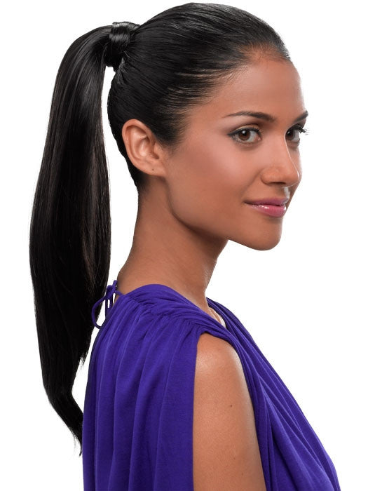 "18"" Simply Straight Pony by HairDo - Wig Galaxy - 6"