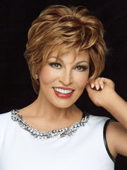Clearance - Stunner Wig - HUMAN HAIR, LACE FRONT, MONOTOP, HAND TIED by Raquel Welch Wigs - ON SELECTED COLORS - FINAL SALE - NO RETURNS
