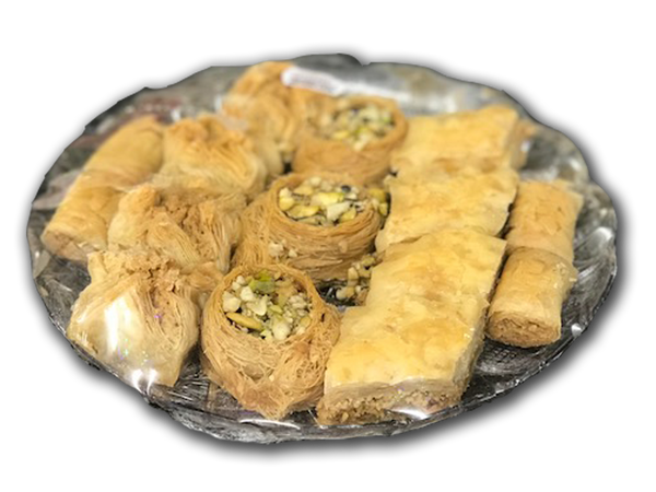 Assorted Baklawa Tray - 500g / 1kg