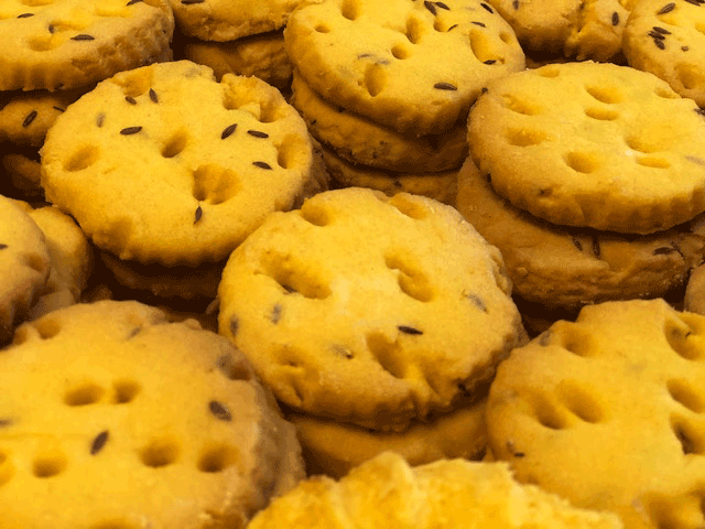 Salted Zeera Biscuits