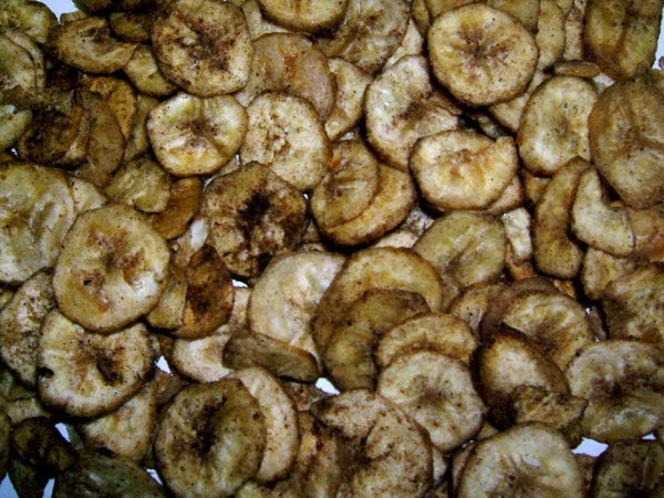 Banana Crisps - Plain Peppered or Spicy