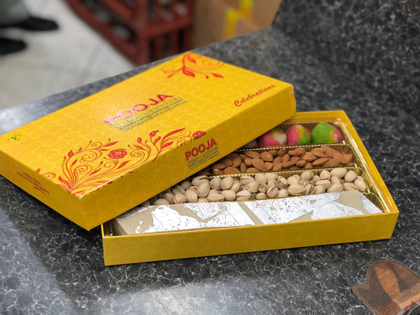 Limited Edition : Almond Pistachio and Cashew Sweet Box