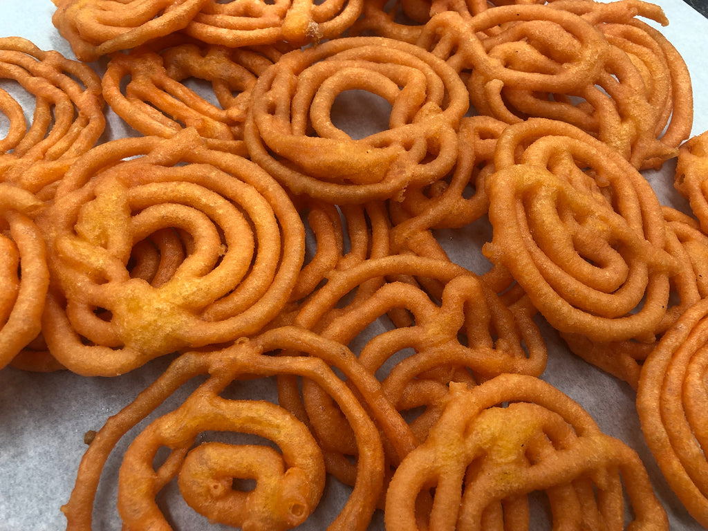 Dry Jalebi (without sugar)