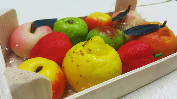 Original Marzipan Fruit Basket