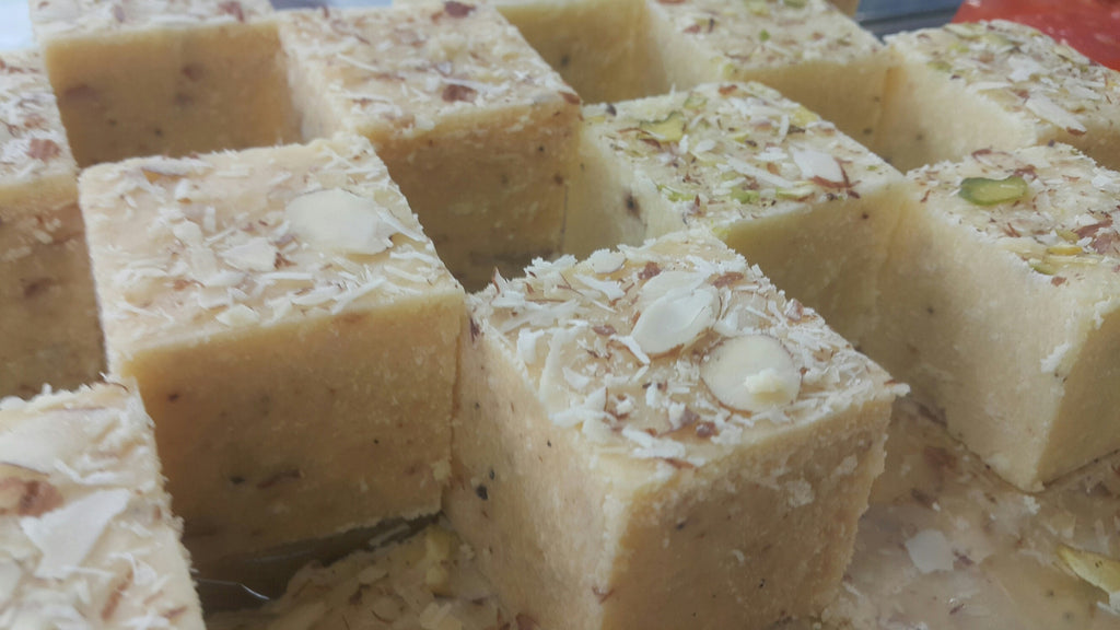Plain Burfi (Low Calorie Sugar)