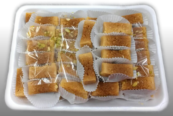 Milk Cake Slices (2.5kg Tray)