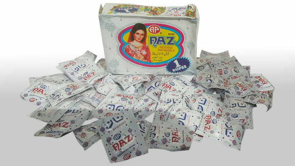 Naz Pan Masala x24 piece (Larger size)