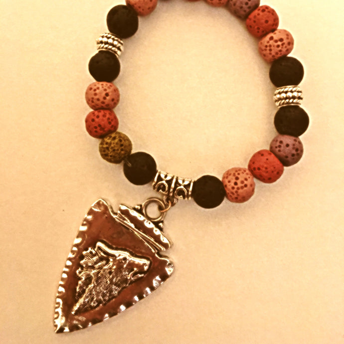 Diffuser Bracelet - Native American Charms