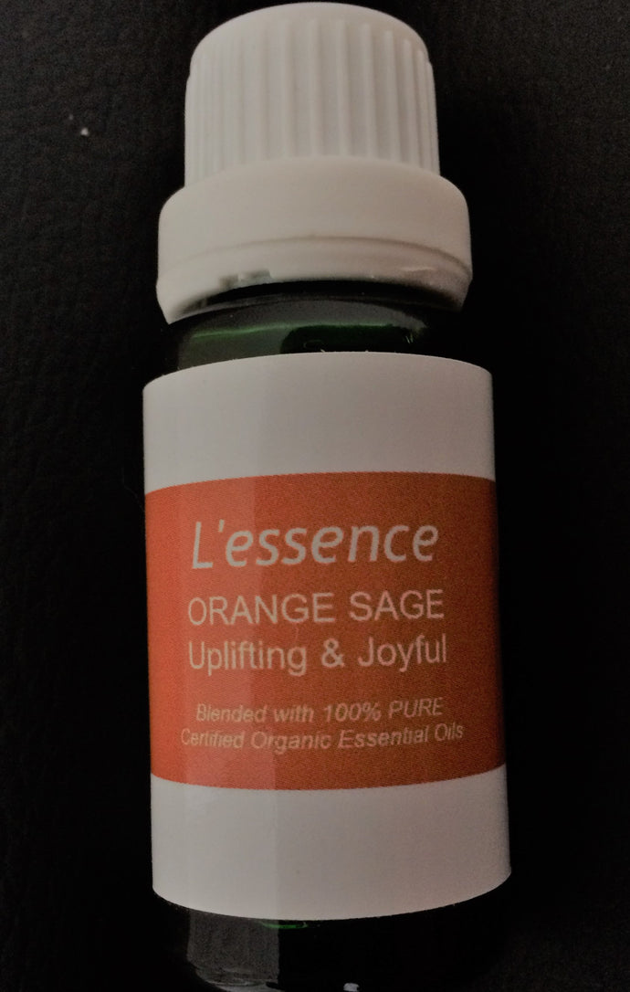 ORIGINAL ORANGE SAGE - UPLIFTING AND JOYFUL