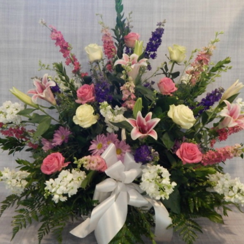 Loving Tribute Funeral Basket