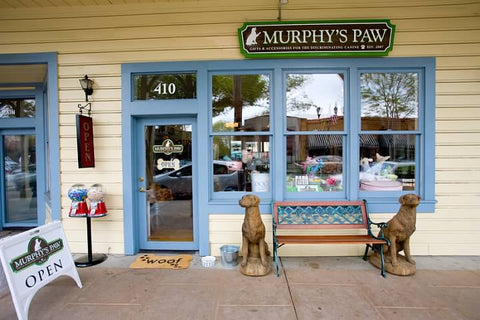 Murphy's Paw carries Hearth Hounds dog Christmas stockings