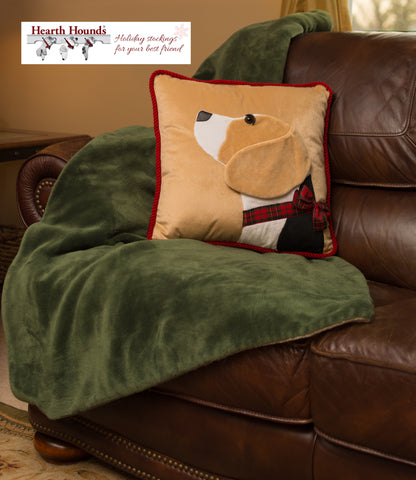 Hearth Hounds Beagle dog pillow