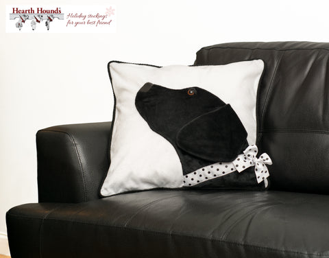 Hearth Hounds Black Lab Dog Pillow