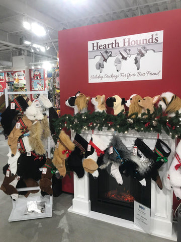 Hearth Hounds dog Christmas stockings