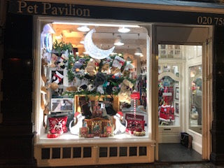 Pet Pavilion carries Hearth Hounds dog Christmas stockings!
