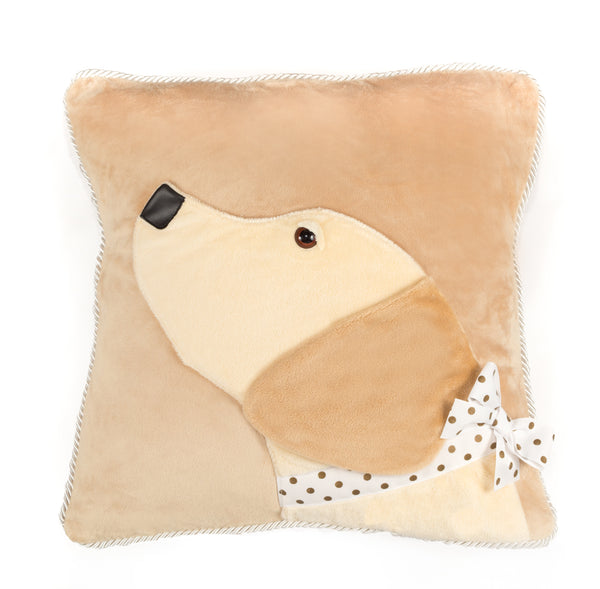 Yellow Lab Decorative Pillow